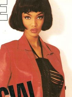Winter Fashion Outfits, 90s Fashion, Fashion Models, Tyra Banks Modeling, Black Supermodels, Divas, 90s Models, Iconic Women, Black Models
