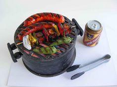 BBQ cake by bubolinkata, via Flickr