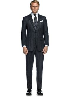 Suitsupply Suits: Soft-shoulders, great construction with a slim fit—our tailored, washed and formal suits are ideal for any situation. Formal Suits, Grey Stripes, Suit Jacket, Slim, London, Store, Fitness, Jackets, Fashion
