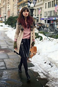 snow melt :) Natalie Off Duty