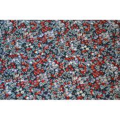 Les liberty wilmslow berry prune et bleu en vente sur la boutique un chat sur un fil.
