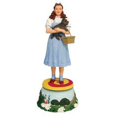 One of my favorite discoveries at WBShop.com: The Wizard of Oz Dorothy Musical Animated Figurine