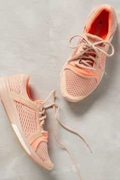Adidas by Stella McCartney CC Sonic Sneakers Coral Sneakers #anthroregistry
