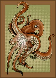 Octopus. by carboncopykiller.deviantart.com on @deviantART