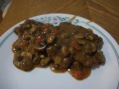 Weight Watchers Mushroom Smothered Salisbury Steak