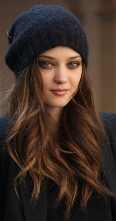 Light Brown Hair Beanie #hairspo #lightbrown #cooltone