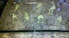 Frozen Dinosaur Excavation Sensory Bin from Munchkin and Bean