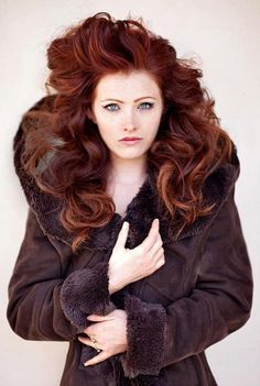 Long l red #hairstyles and #hair advice WWW.UKHAIRDRESSERS.COM