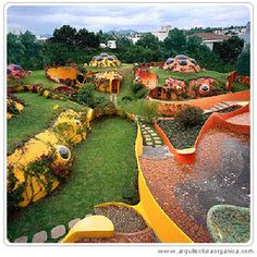 Talk about Lord of the Rings and Wizard of Oz mixture!     Javier Senosiain (born 1948), a Mexican architect who is the key exponent and also one of the first explorer of so-called organic architecture.