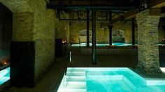 Aire Ancient Baths Chicago - A journey of relaxation in a candlelit historical building, that consists of a tour at your own pace through different baths at different temperatures.