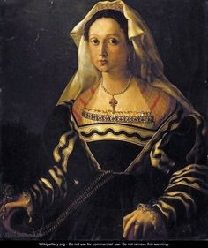 Florentine School, Portrait Of A Noblewoman said to be Vittoria Colonna (1492-1547)