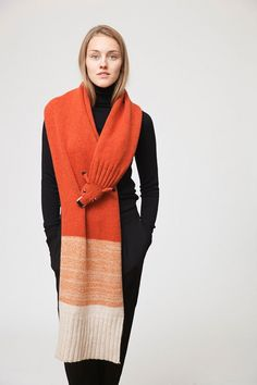 OMG! These are Coolest Knitted Scarfs!   CREATIVE IN HOME