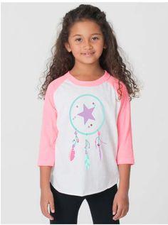 Dream catcher  Children's graphic Tshirt. Sizes 2 4 by StarrJoy16