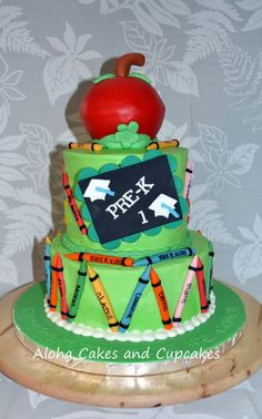 preschool graduation cake - Google Search