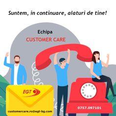 Echipa Customer Care este, in continuare, alaturi de tine! Nevoile tale sunt prioritatile noastre asa ca, ori de cate ori decizi ca ai nevoie de suport, te invitam sa iei legatura cu noi. Vom trata solicitarile tale cu rapiditate si o deosebita implicare.  Am pastrat aceleasi modalitati prin care ne poti contacta: Telefon: 0757.097101 E-mail:  customercare.ro@egt-bg.com Chat:     www.egt-bg.ro Romania, Marketing, Movies, Movie Posters, Films, Film Poster, Cinema, Movie, Film