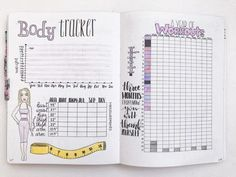 5 Free Printable Bullet Journal Weight Loss Pages ⋆ The Petite Planner Weig. 5 Free Printable Bullet Journal Weight Loss Pages ⋆ The Petite Planner Weight Loss Page Ideas for Your Bullet Journal Bullet Journal Tracker, Bullet Journal Health, Bullet Journal Workout, Bullet Journal 2019, Bullet Journal Ideas Pages, Fitness Journal, Fitness Planner, Bullet Journal Inspo, Bullet Journal Layout