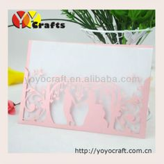 free logo laser cut paper in various color and size fast shipment customlizable couple wedding invitation card -in Decorative Flowers  Wreaths from Home  Garden on Aliexpress.com $90.00