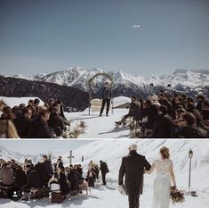 Picture by Philippe Wenger Outside Wedding Ceremonies, Wedding Ceremony, Hamilton, Spa, Swiss Alps, Getting Married, The Outsiders, Romantic, Weddings