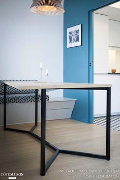 Réaménagement complet d'un appartement de 78 m2, Mélanie Lallemand Flucher - Côté Maison