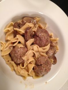 Meatball Stroganoff - recipe from Cooking Light Magazine
