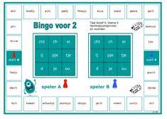 Spellingscategorieën en woorden van thema 6 nog eens oefenen met deze bingo voor 2. Dutch Language, Bingo, Circuit, 1, Classroom, Teacher, Letters, Learning, Stage