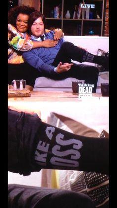 Norman's Like a Boss socks.
