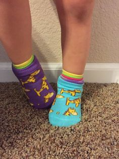 Why wear one pair of Trumpette socks when you can wear SIX!