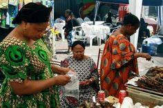 Mensen die houden van een Afrikaanse sfeer moeten zeker eens de Matongé wijk bezoeken.