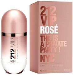 carolina herrera perfume 212 vip rose - Google Search