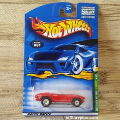 2001 HOT WHEELS '65 CORVETTE SUPER TREASURE HUNT SERIES LIMITED EDITION NO. 1/12