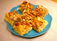 Eplekake med marsipan, nam! Norwegian Food, Muffin, Breakfast, Morning Coffee, Muffins, Cupcakes
