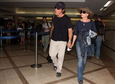 Josh Brolin - Diane Lane and husband Josh Brolin