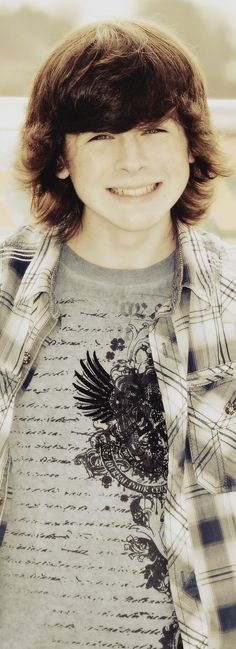 Chandler Riggs, San Diego Comic Con, 2014