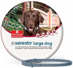 Bayer Seresto Flea and Tick Collar for Large Dogs 8 Month Protection This has a rating of above 4 stars and remains among the most popular items bought online in Pet Supplies category in USA. Click below to see its Availability and Price in YOUR country.
