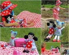 My little Oobi girl -  picnic at the park