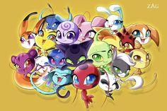 This is so cute. Los Miraculous, Miraculous Ladybug Wallpaper, Miraculous Ladybug Fan Art, Ladybug Kwamis, Ladybug Comics, Lady Bug, Jeremy Zag, Tikki Y Plagg, Ladybug Und Cat Noir