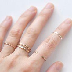 Orla ring worn as a midi ring - loveedor.com