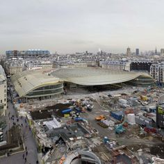 Les Halles to reopen as glass-roofed cultural centre and shopping complex