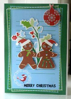 #christmas #card #kaisercraft