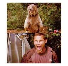 :D :D :D Alex living in Derek's trailer!