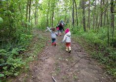 Hiking on Camping Trip