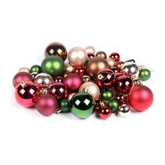 Pack of 50 Assorted Baubles