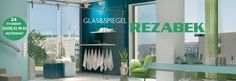 Shower cabins - glass showers made to measure - Rezabek GmbH - Oberhausen - - Reading Room Decor, Shower Cabin, Glass Showers, Cabins, Home Decor, Modern Glass, Mirrors, Life, Decoration Home