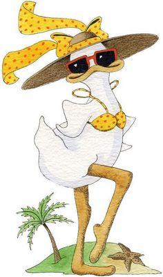 Mitzi - MFP Coleções A - Álbuns da web do Picasa Cartoon Kunst, Cartoon Drawings, Cartoon Art, Animal Drawings, Chicken Crafts, Chicken Art, Duck Illustration, Cartoon Chicken, Bird Template