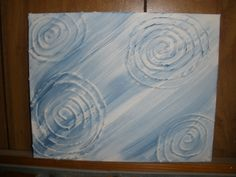 Puff Paint on Canvas