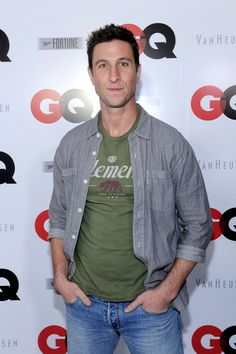 Actor Pablo Schreiber attends the GQ Super Bowl Party 2014 sponsored by Patron Tequila, Van Heusen, and Miller Fortune on January 31, 2014 in New York City.