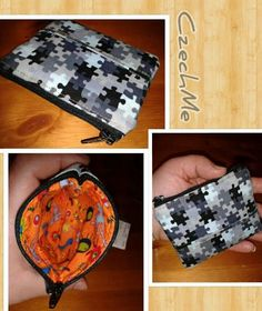 Zip up pouch