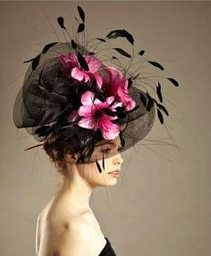 Love hats.  I'd look stupid in this, but oh, my!