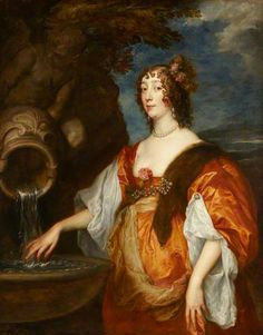 Lady Lucy Percy (c.1600–1660), Countess of Carlisle by Anthony van Dyck    Date painted: c.1635–1637 Oil on canvas, 135.5 x 108 cm @ Petworth
