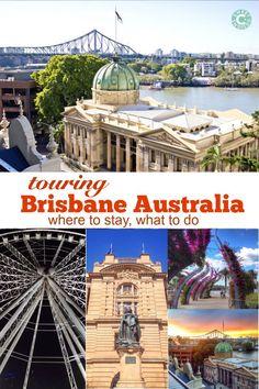 Brisbane Australia - Touring the City - Sweet C's Designs